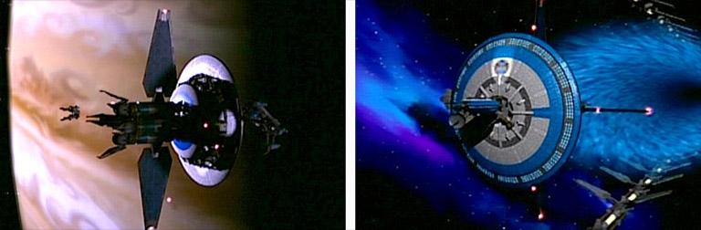 корабль президента Земного Альянса Earthforce-1