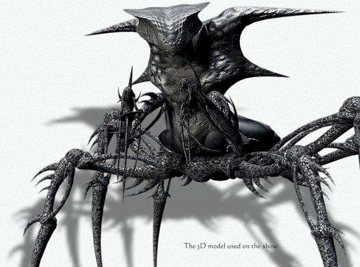 3D модель представителя расы Теней