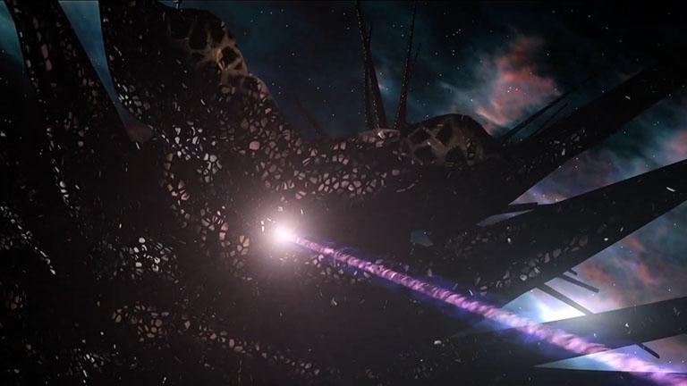 Режущий луч, крейсер Теней (Shadow Battlecrab), сериал «Вавилон-5»