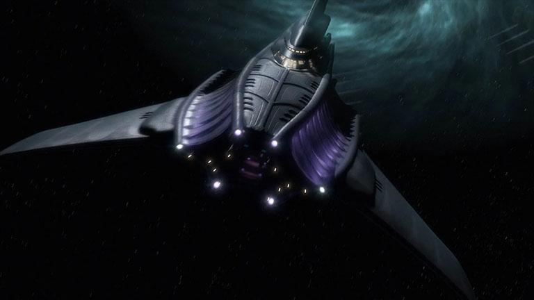 Корабль из фильма Babylon 5: The Lost Tales