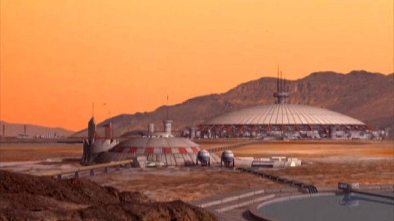 Mars Dome One, сериал «Вавилон-5»
