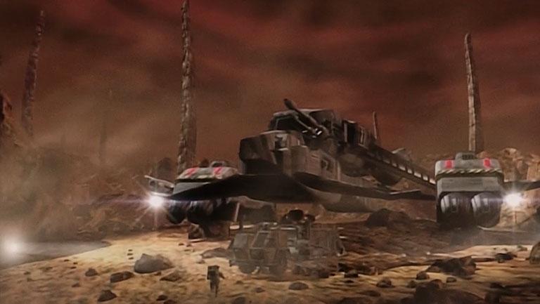 "Экспедиция на За'ха'дум, корабль ""Икар"", 16 серия, 2 сезона, сериал «Вавилон-5»"