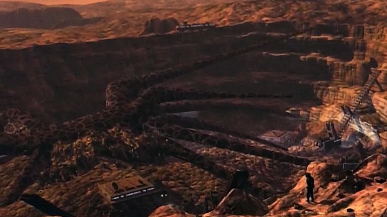 Корабль теней на Марсе, раскопки, 8 серия, 3 сезон, сериал «Вавилон-5»