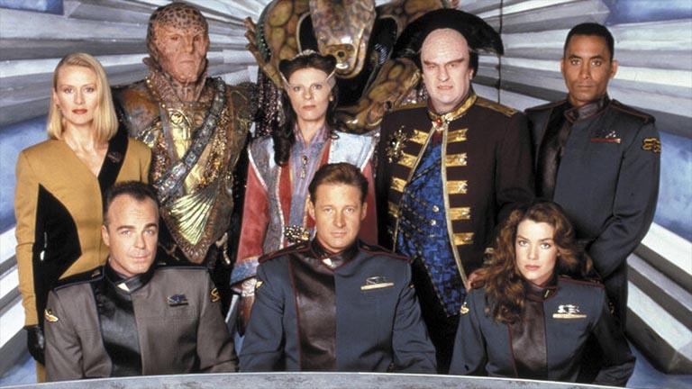 Основной состав второго сезона сериала Вавилон-5