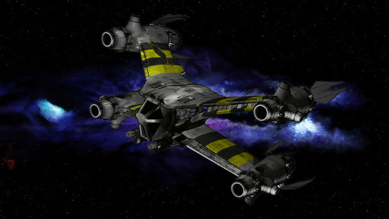 Starfury - истребитель Звездная Ярость SA-23 Аврора