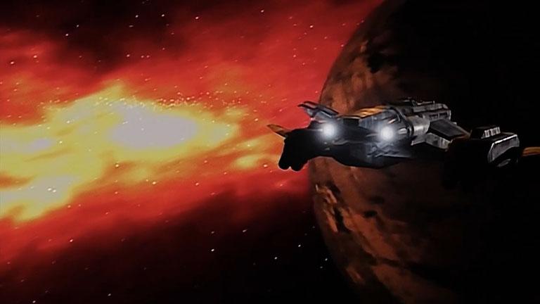 Туманность возле планеты За'Ха'Дум, сериал Вавилон-5