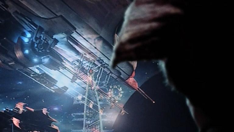 Масс-драйвер, момент запуска астероида