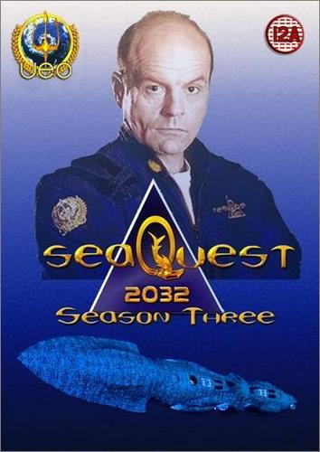 Сиквест (Подводная одиссея) 2032 / SeaQuest 2032 (полный 3 сезон) (Рокни О'Бенон) [1995г., Фантастика, приключения, SatRip] (ТНТ)
