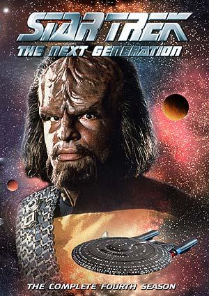 Звездный путь Следующее поколение (Сезон 4. ПОЛНЫЙ) / Star trek The Next Generation [DVDRip] [AXN Sci-fi]